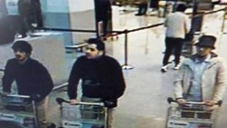 Brussels airport suspects